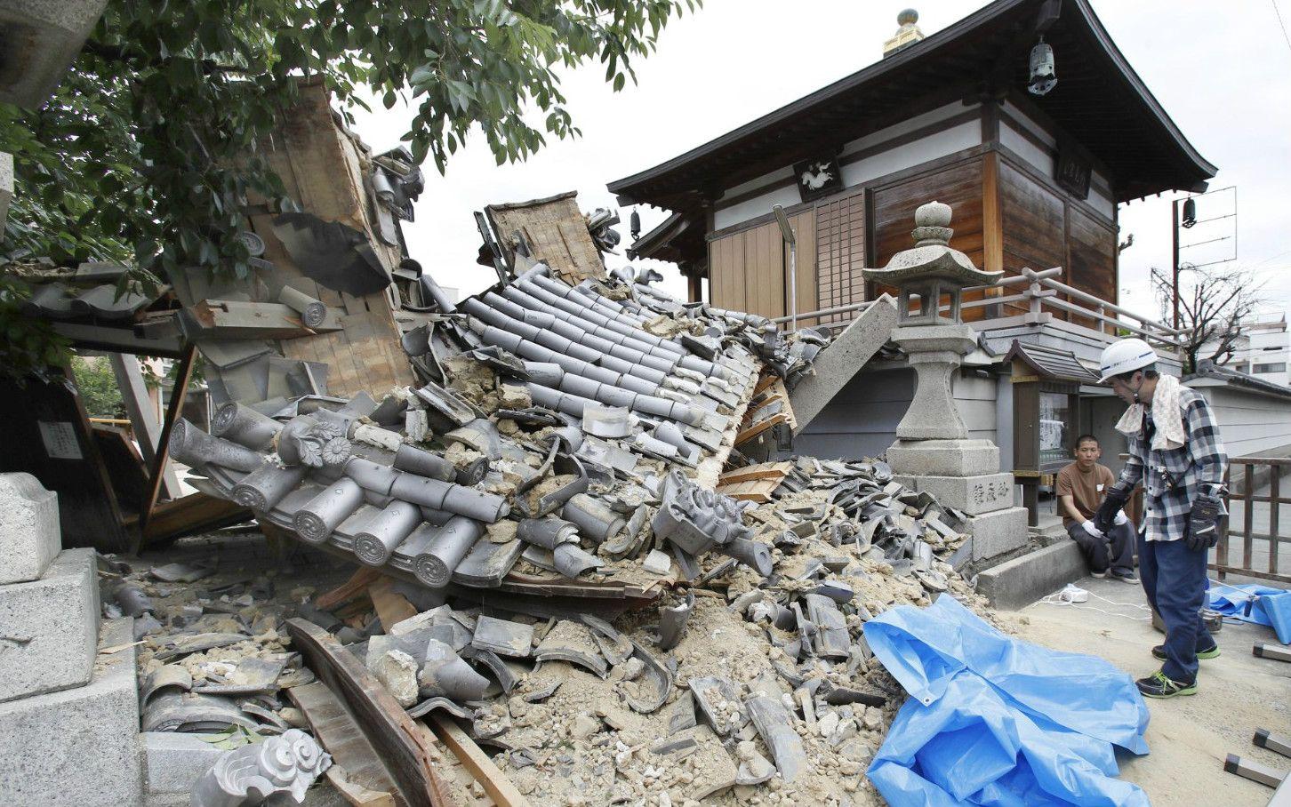 大阪北部地震は「西日本大震災」...