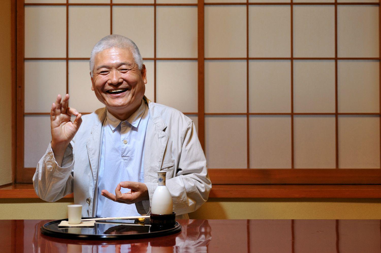年をとってもいつもニコニコ ©志水隆/文藝春秋