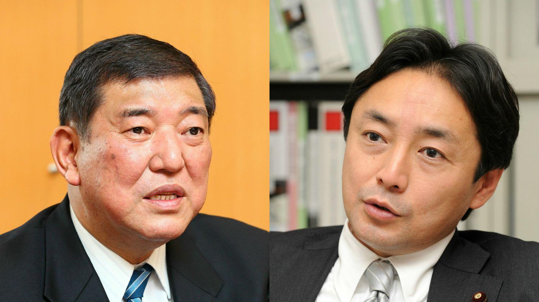 アンケートに回答した石破氏(左)と後藤田氏(右) ©文藝春秋