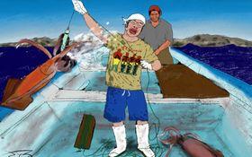 松尾諭「拾われた男」 #21 「メキシコで目を疑うほど巨大なイカを釣った日」