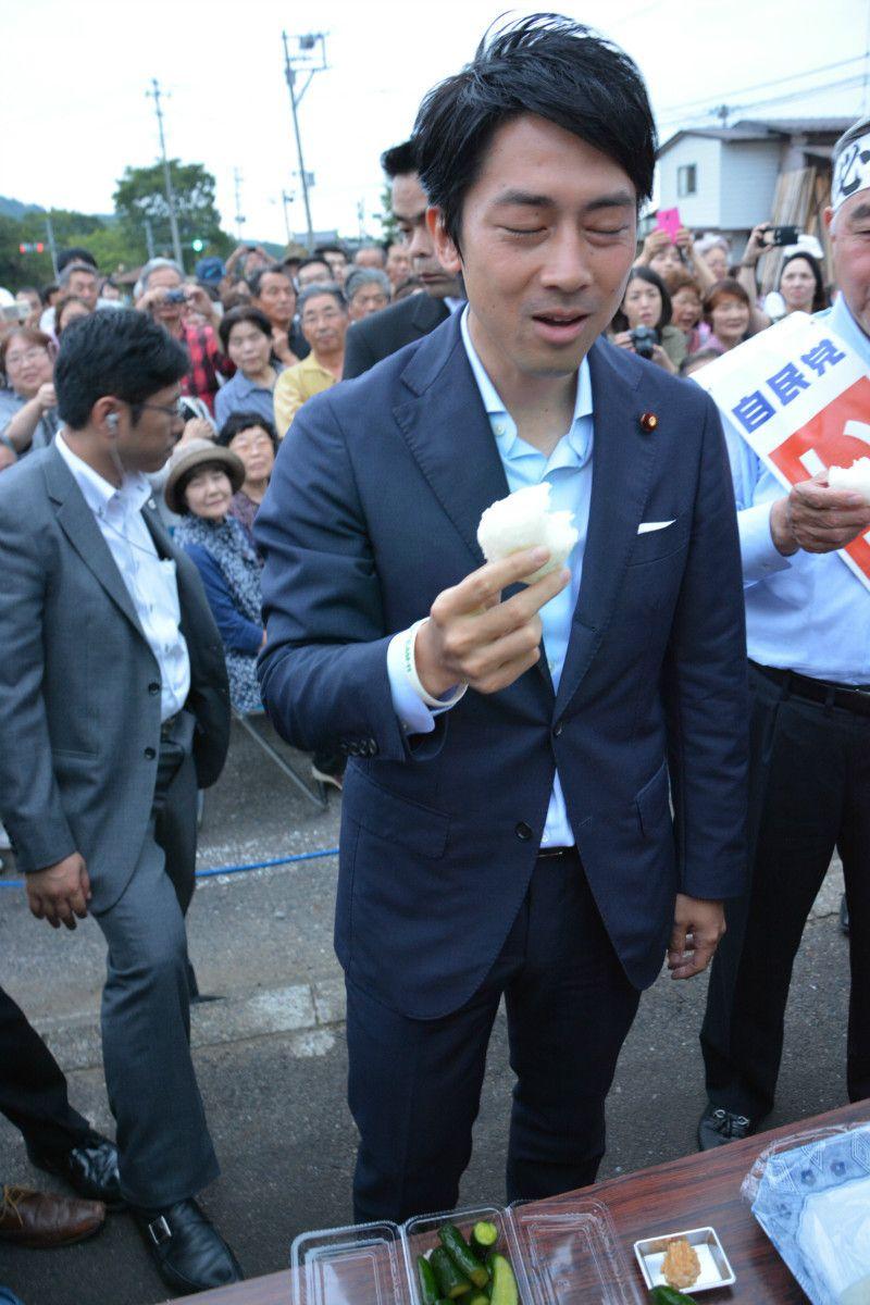 「1キロ6万円」の高級米おにぎりに圧倒(福島県天栄村)撮影:常井健一