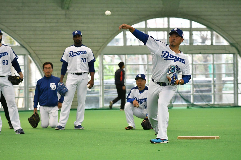 4月3~5日の巨人戦での公式戦デビューが予想される松坂大輔 ©文藝春秋