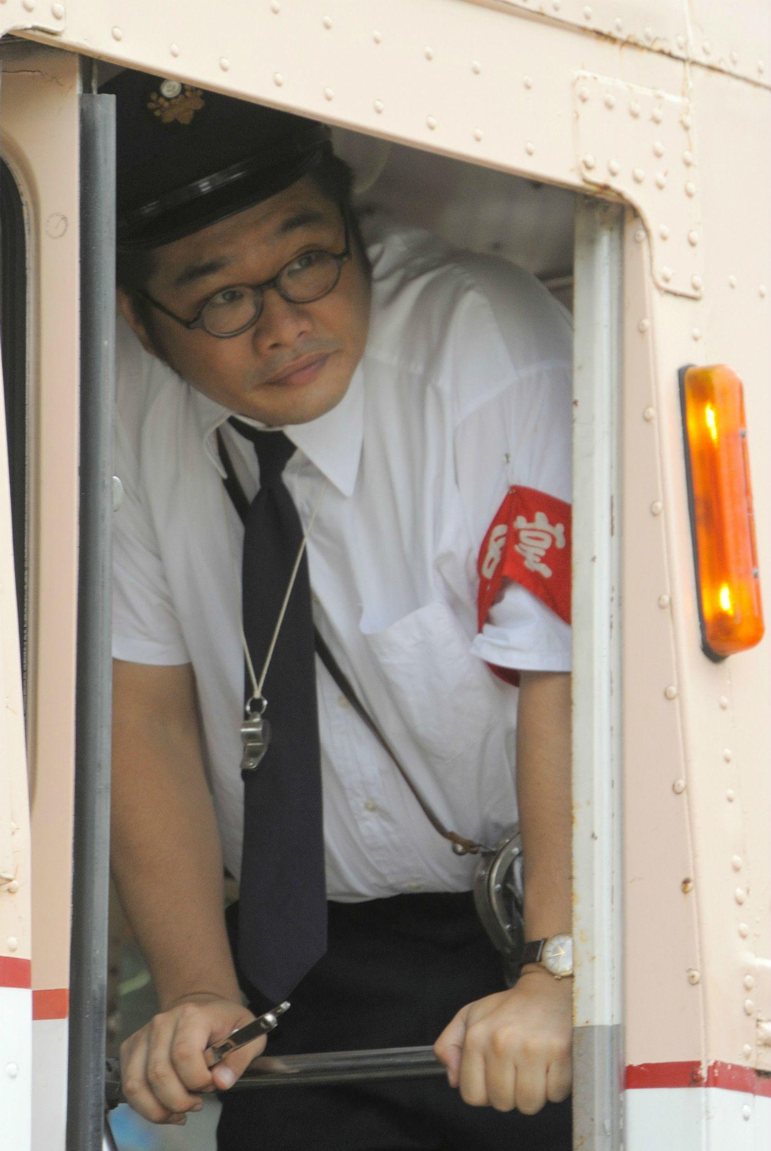 まつお・さとる/俳優。1975年生まれ。「ひよっこ」では奥茨城のバス車掌・益子次郎役を演じる(写真) ©NHK