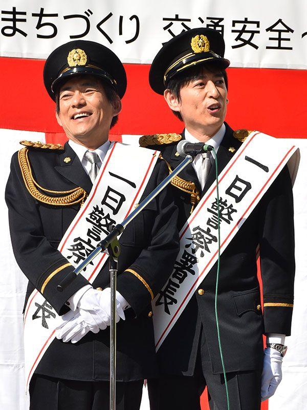 博多華丸・大吉 左:華丸/右:大吉 ©共同通信社