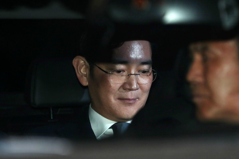 サムスン電子の李在鎔副会長 ©getty