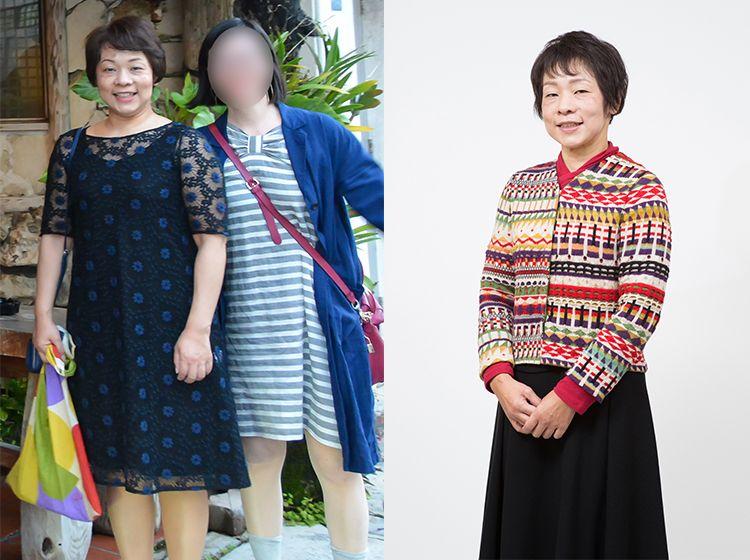 50代I子さん 65kg→50kg マイナス15kg