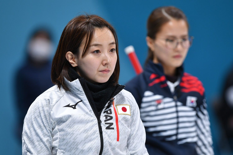 準決勝の勝敗を左右する日韓スキップ対決 ©JMPA