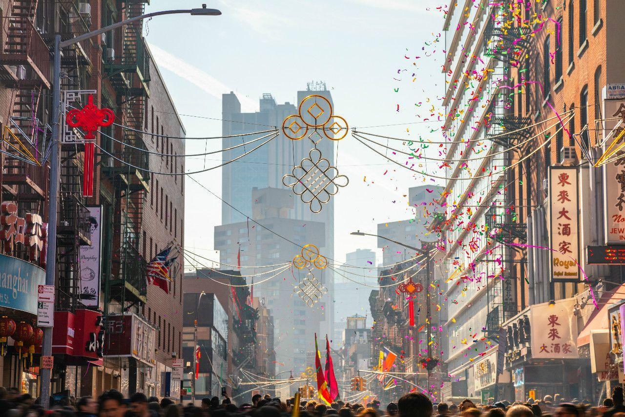 ニューヨーク市での旧正月のお祝い ©iStock.com