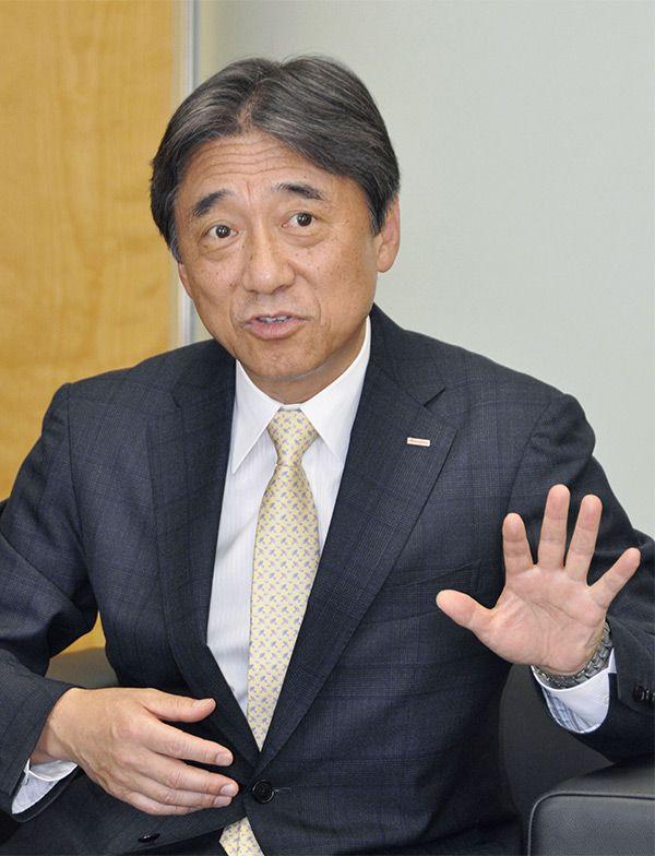 ドコモの吉澤社長は「料金には納得感が必要」  ©共同通信社