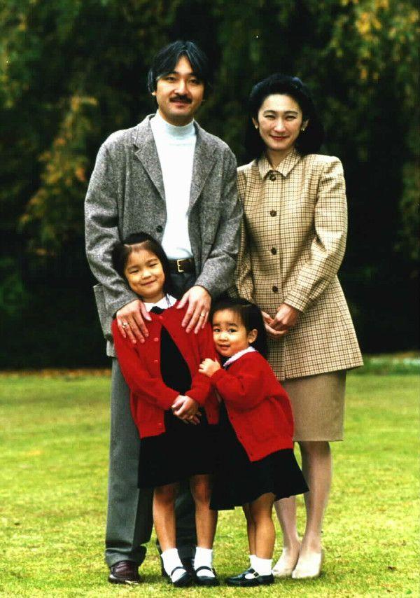 1997年11月、秋篠宮さまお誕生日に際してのご近影 宮内庁提供