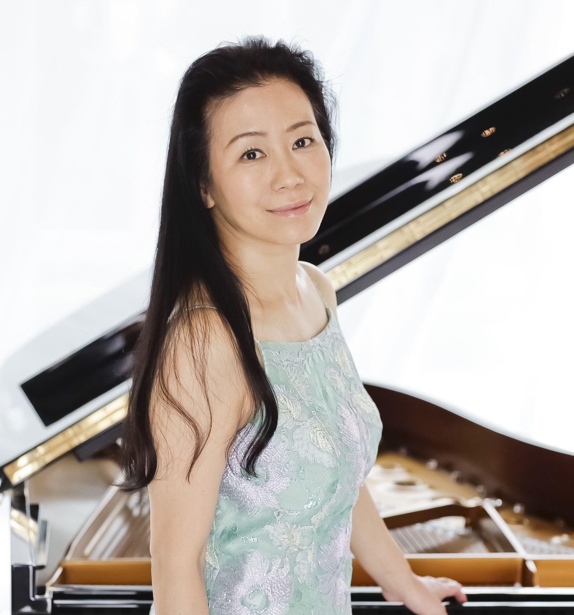 ピアニストの小山実稚恵さん ©Wataru Nishida