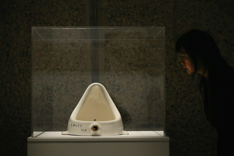マルセル・デュシャン「泉」 ©getty