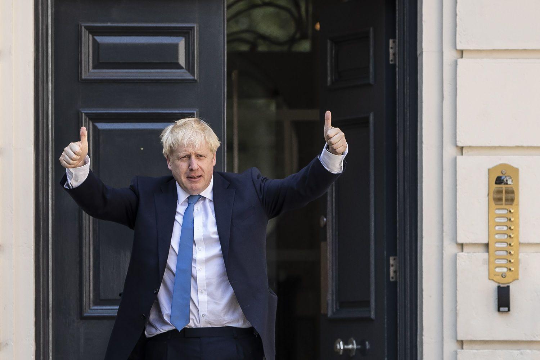イギリスの新首相に就任したボリス・ジョンソン。かつては、保守系日刊紙「デイリー・テレグラフ」の記者を務めていた ©getty