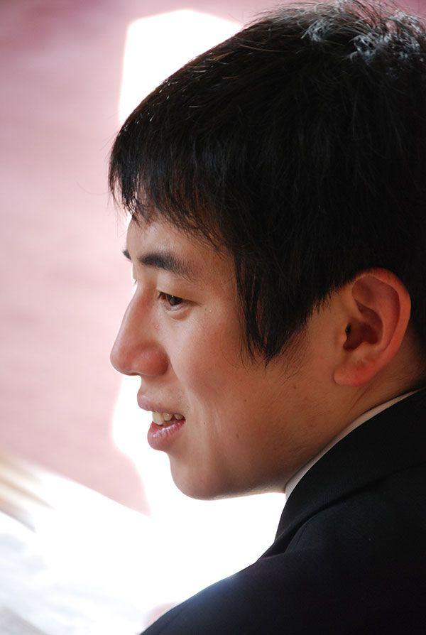 当時23歳、奨励会で悪戦苦闘していた頃の鈴木肇(撮影筆者)
