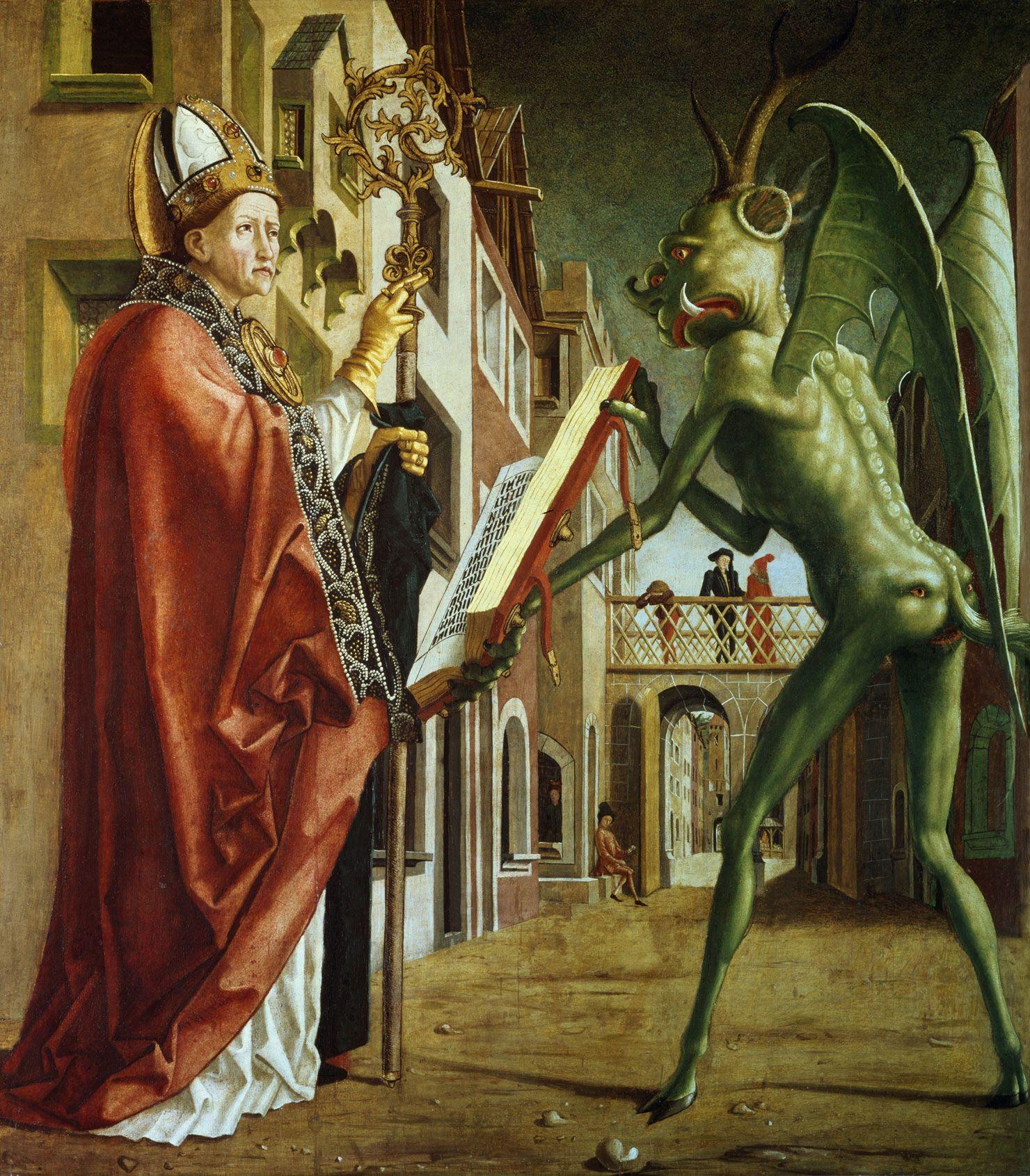 1490年、油彩、103×91cm アルテ・ピナコテーク ©ユニフォトプレス