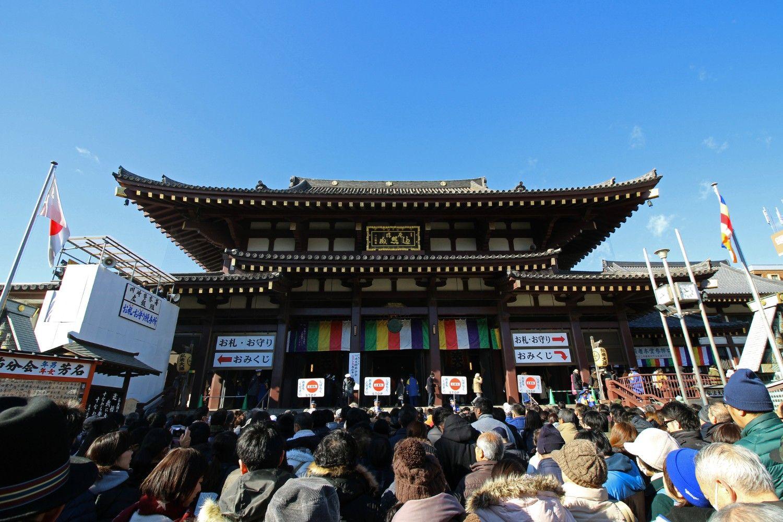 川崎といえば川崎大師(川崎区)。初詣には毎年数百万の参拝者が訪れる ©iStock.com