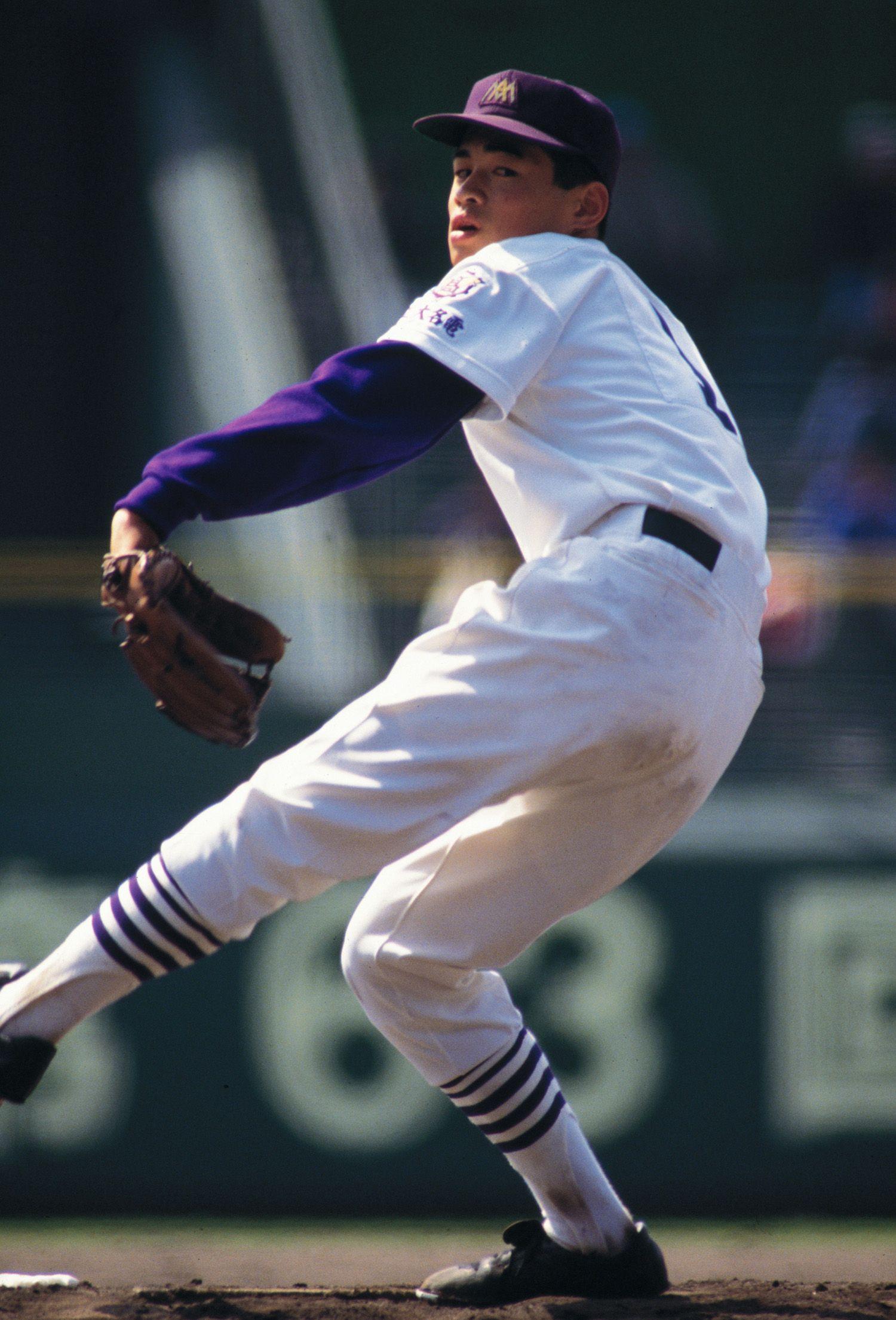 1991年ドラフトでオリックスから4位指名。プロ入りを果たす ©AFLO