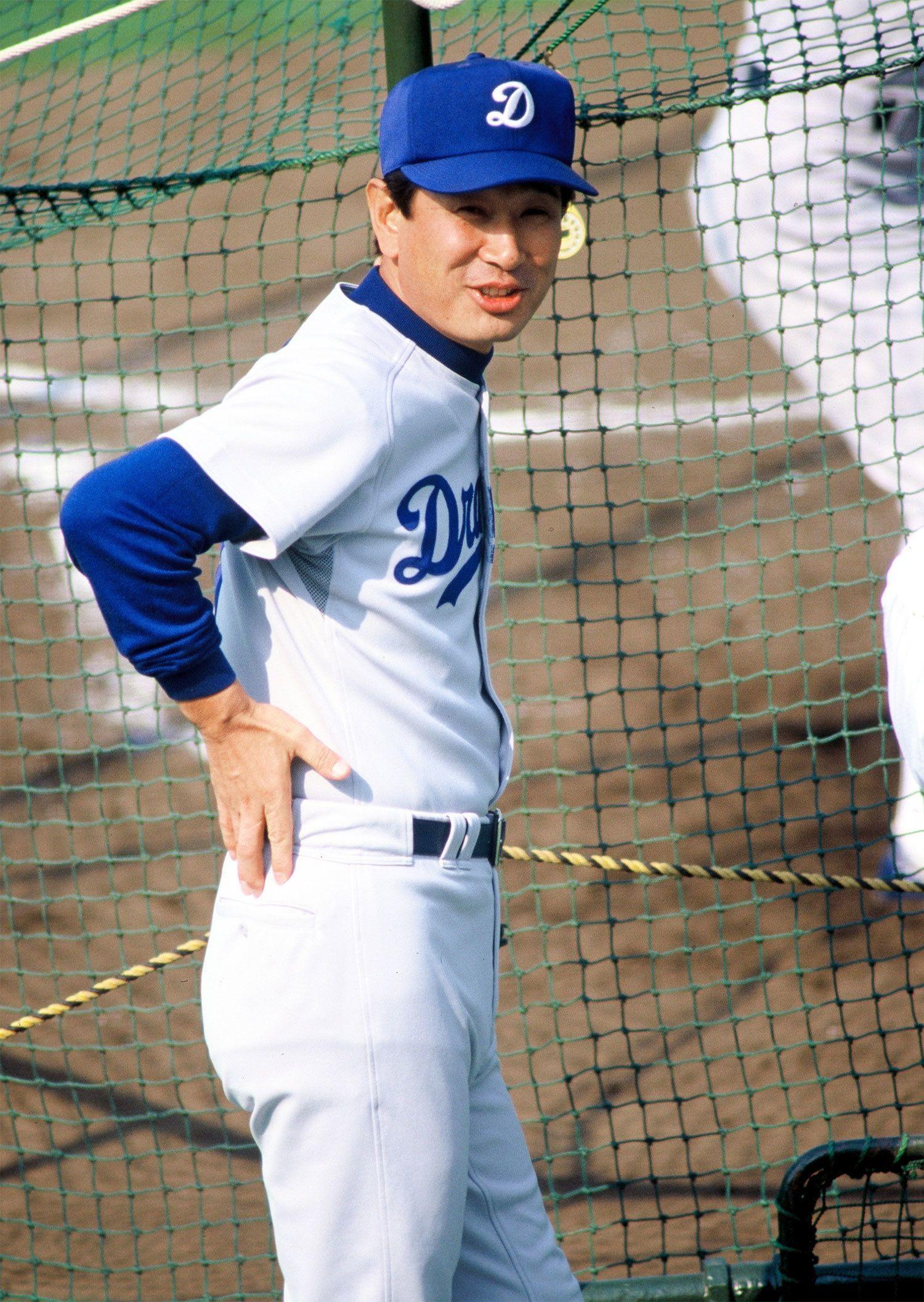 ナゴヤドームで野球殿堂入りの表彰をされた星野仙一 ©文藝春秋