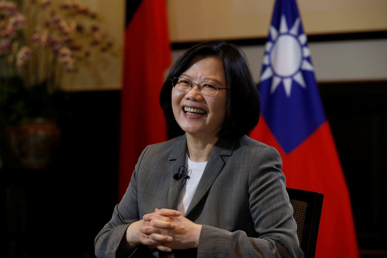 台湾の蔡英文総統 ©AFLO