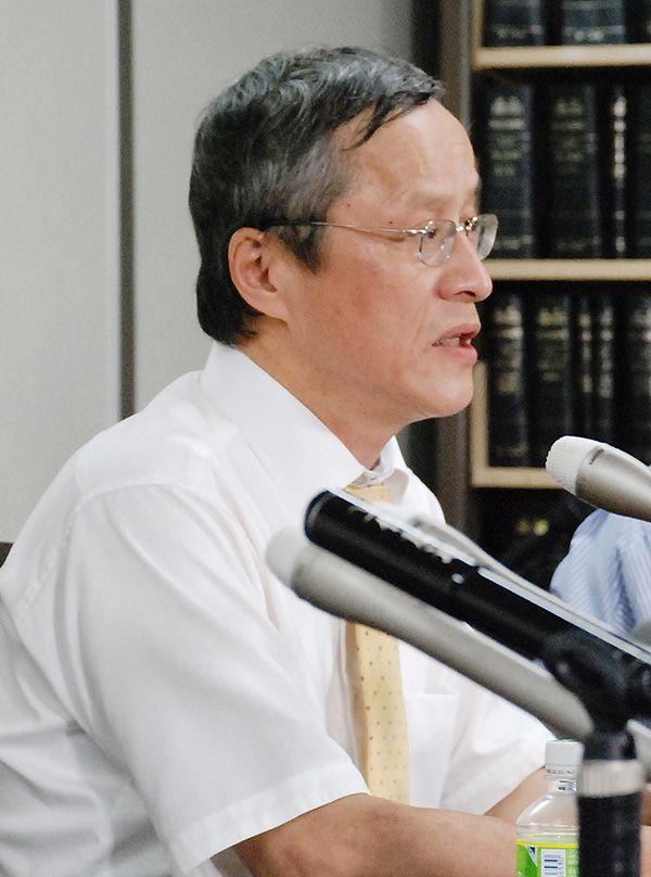 滝本太郎弁護士 ©時事通信社