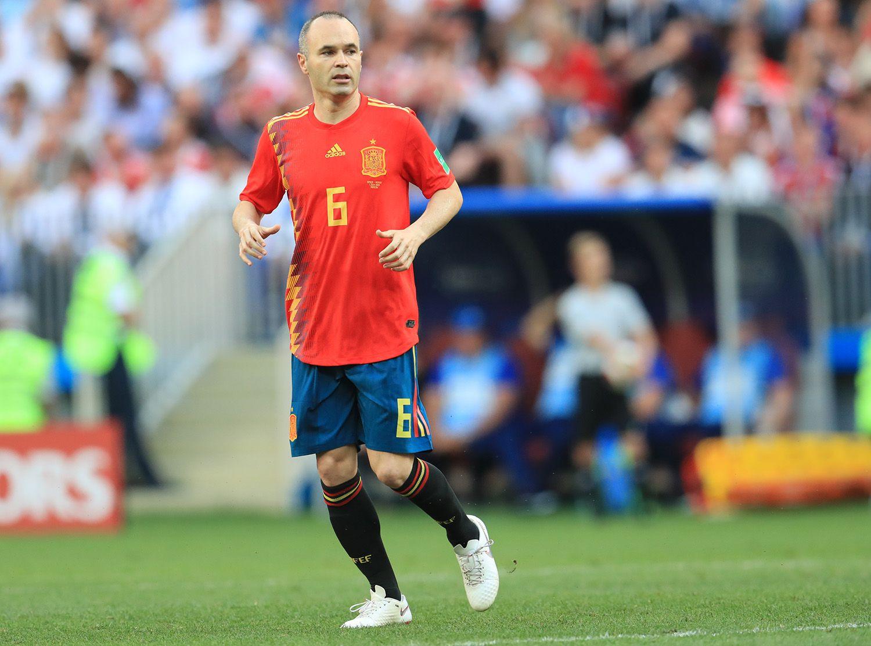スペイン代表としてロシアW杯にも出場したイニエスタ ©JMPA