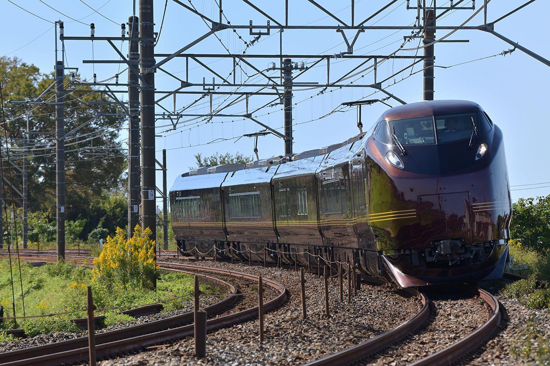 お召し列車としても活躍する最上級の列車「なごみ(和)」