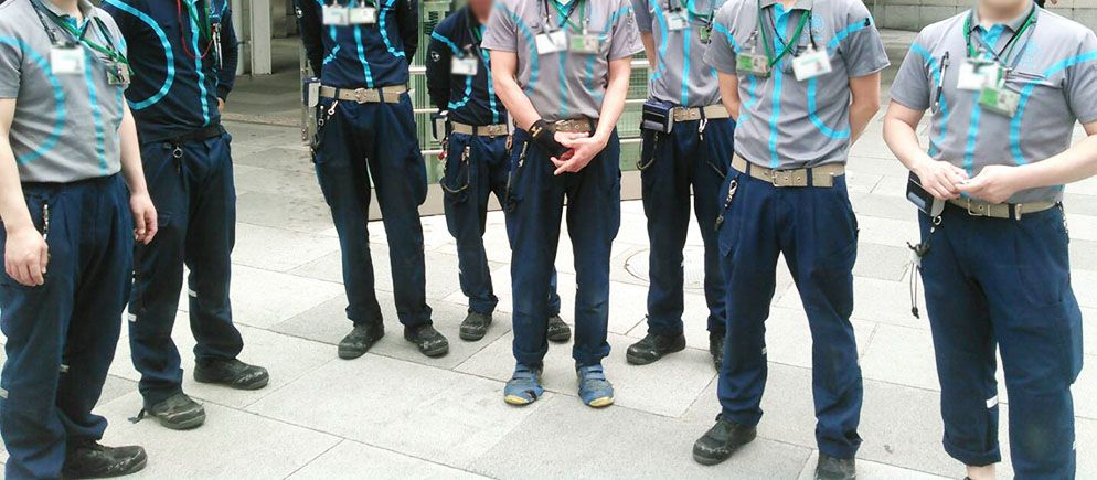 東京駅でのストライキに参加した面々