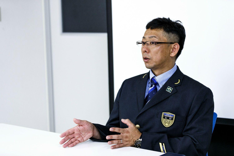 山陽新幹線運転士の七村賢治さん