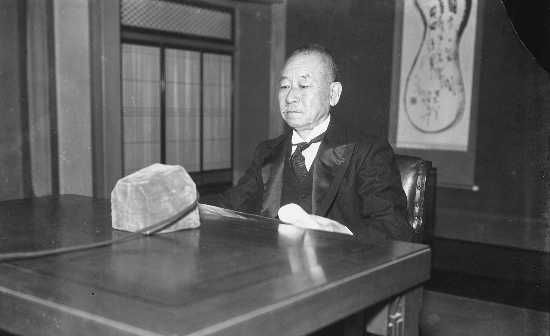 事件当時の首相・岡田啓介 ©文藝春秋