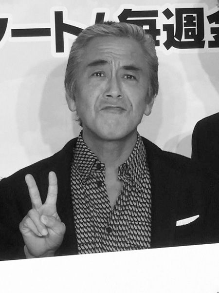 ドラマ制作発表会見での寺島進