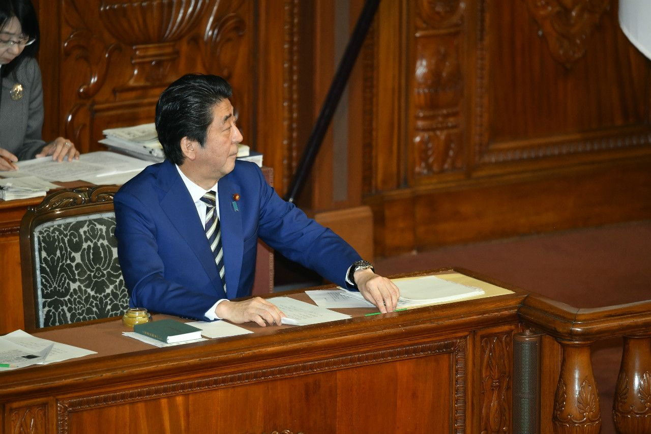 安倍首相 ©杉山拓也/文藝春秋