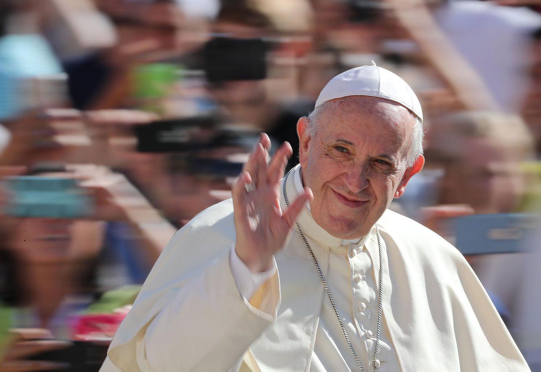 総括を迫る法王フランシスコ ©共同通信社