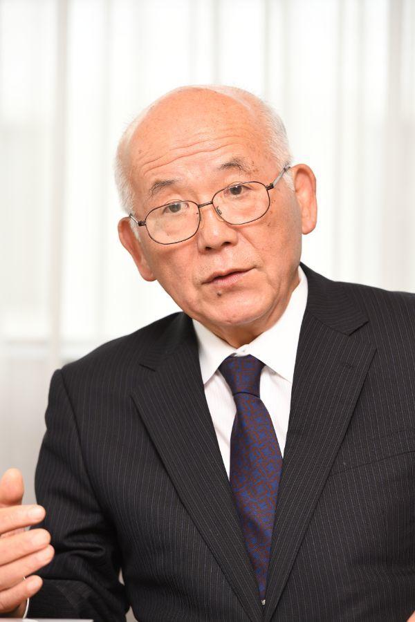 元宮内庁長官の羽毛田氏 ©文藝春秋