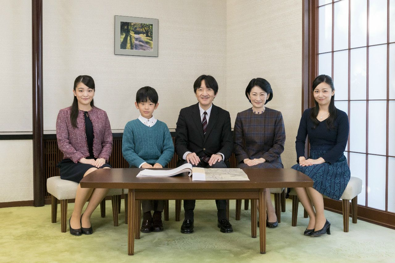 2018年11月、秋篠宮さまお誕生日に際してのご近影 宮内庁提供
