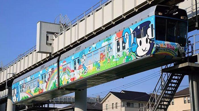千葉都市モノレール「モノちゃん号」は1時間¥11,550で借りられる