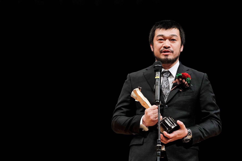 竹原ピストル。2016年には第90回キネマ旬報ベスト・テンで助演男優賞を受賞 ©文藝春秋
